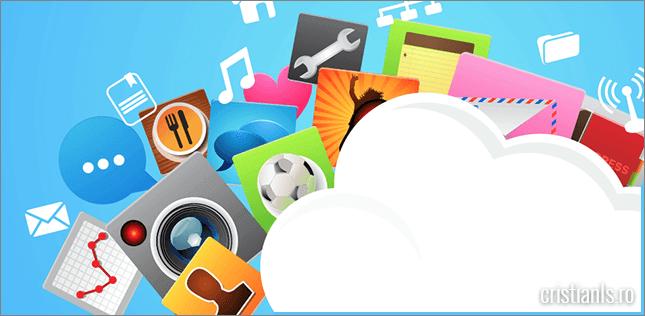 servicii de stocare cloud