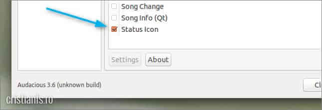 Audacious » Status Icon
