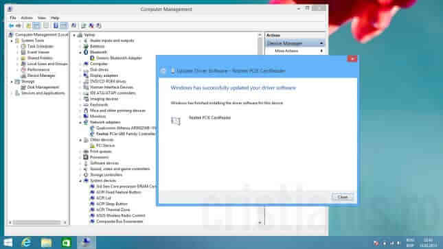 Instalarea driverilor in Windows 8.1