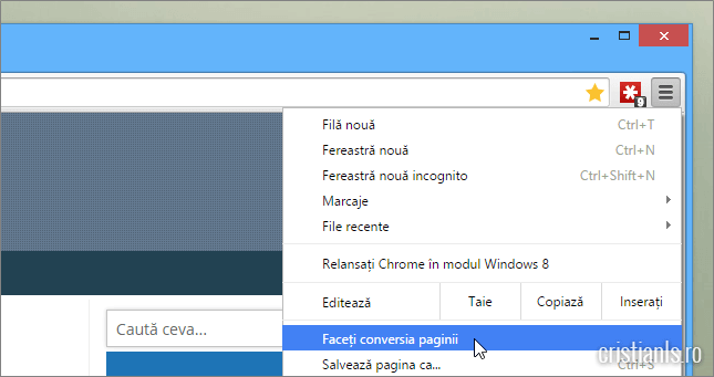 cum se activează reader mod in google chrome
