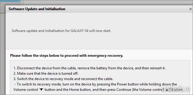 punerea samsung galaxy s4 in modul download