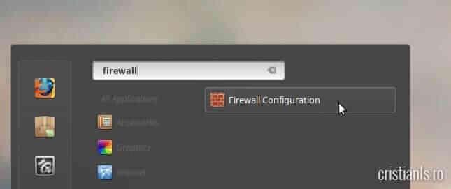 firewall ubuntu linuxmint