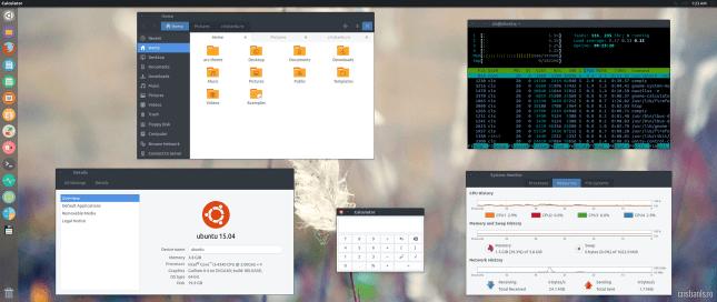 tema arc pentru ubuntu
