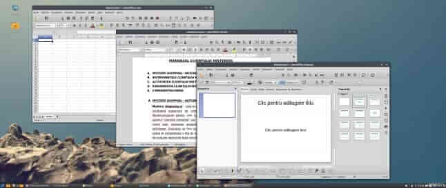 LibreOffice in Linux Mint