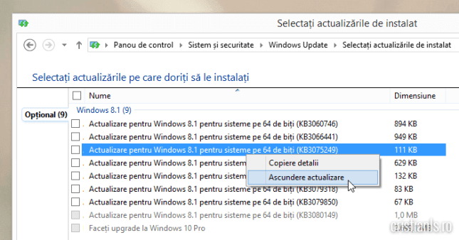 date telemetrice windows