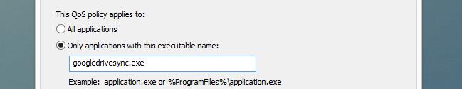 numele executabilului programului pentru care se limiteaza conexiunea la internet