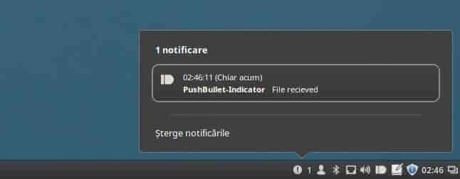 pushbullet linux mint