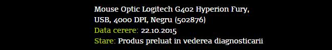 Optic Logitech G402 Hyperion Fury