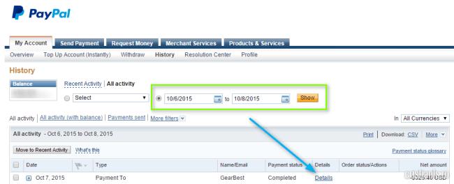 solicitare returnarea banilor pe paypal