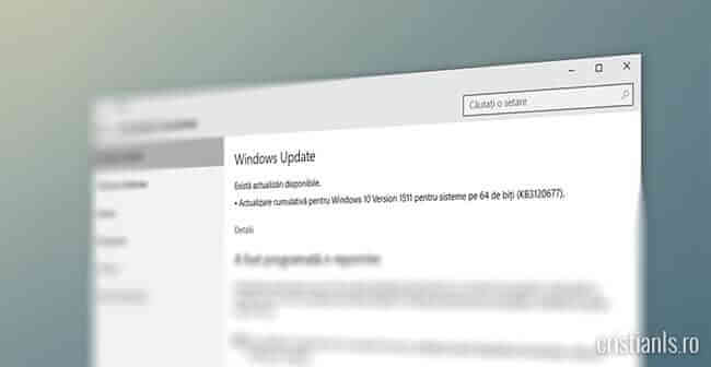 Windows 10 - KB3120677