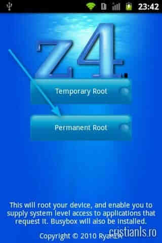 Permanent Root LG Optimus One P500