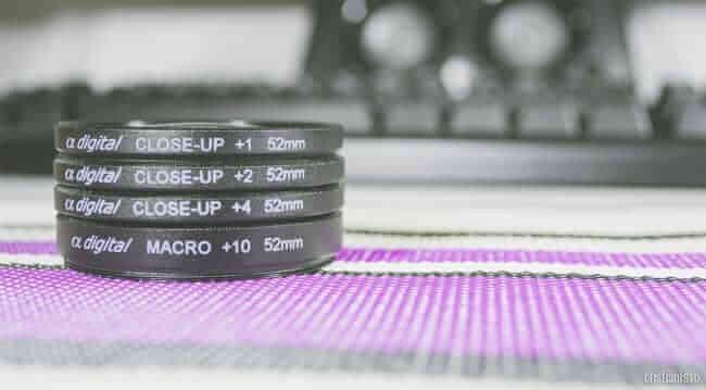 filtre close-up (macro) 52mm