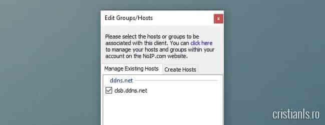 host dynamic dns noip.com