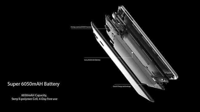 Ulefone Power - 6050 mAh