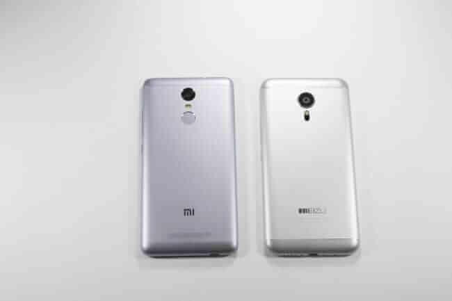 Xiaomi Redmi Note 3 vs. Meizu MX5