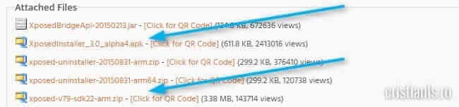 Xposed Installer & SDK arm64