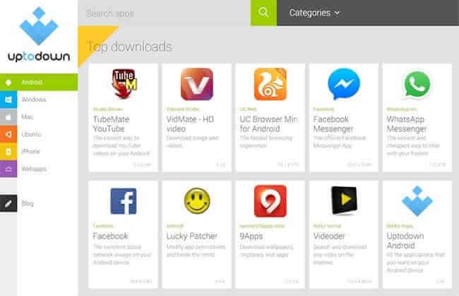 Alternative la Google Play - Uptodown
