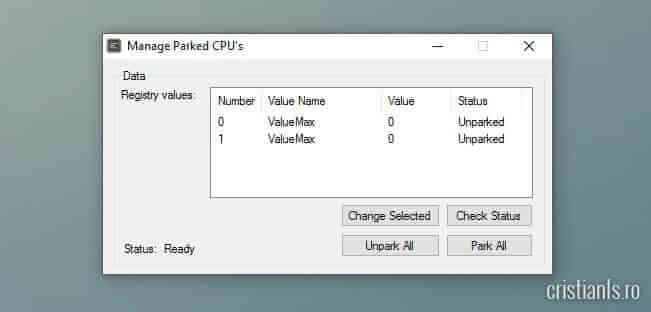 Status CPU