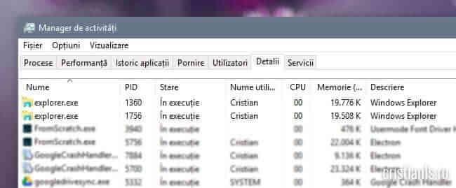 instante Windows Explorer