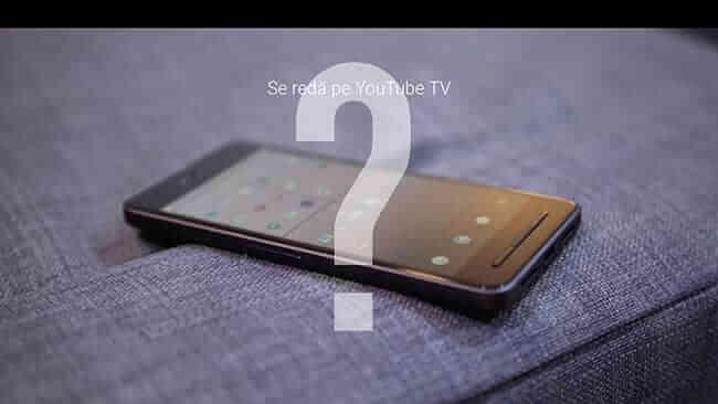 se reda pe YouTube TV
