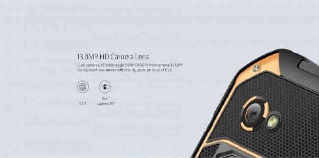 Blackview BV6000 camera foto