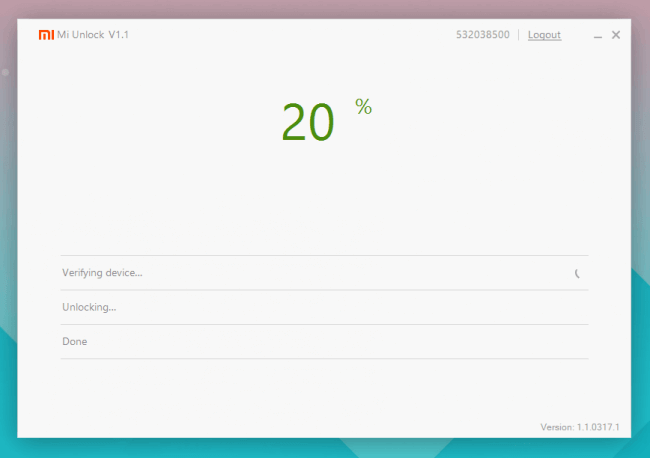 Mi Unlock 20%