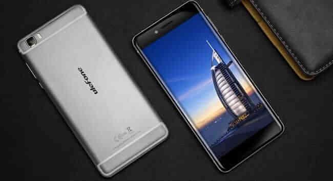 Ulefone Future - fata & spate