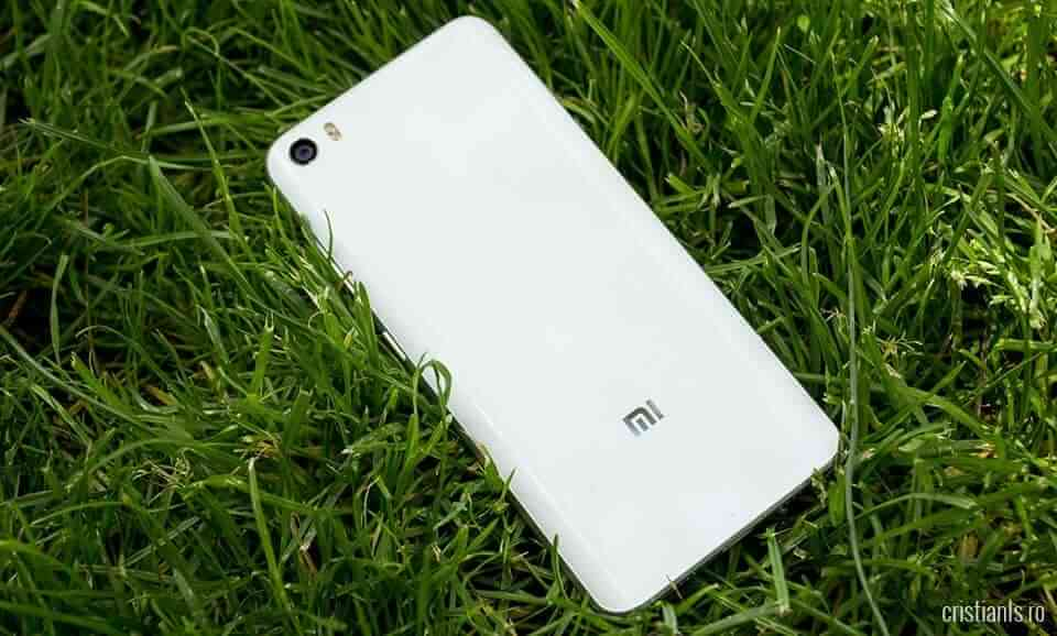 Xiaomi Mi 5 - spate