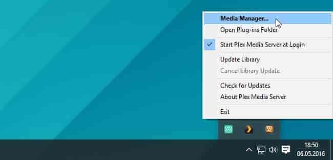 configurare ulterioara plex media server