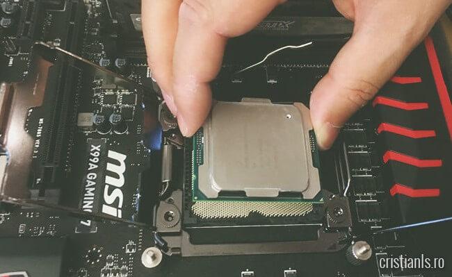 montare procesor intel