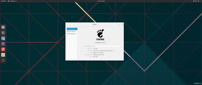 Antergos - GNOME 3.22.2
