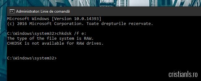 disk raw