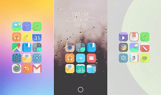 Vopor Icon Pack Android