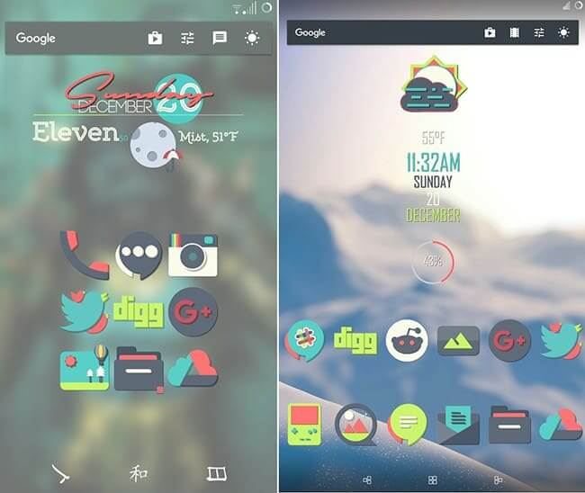 bayside icon pack android