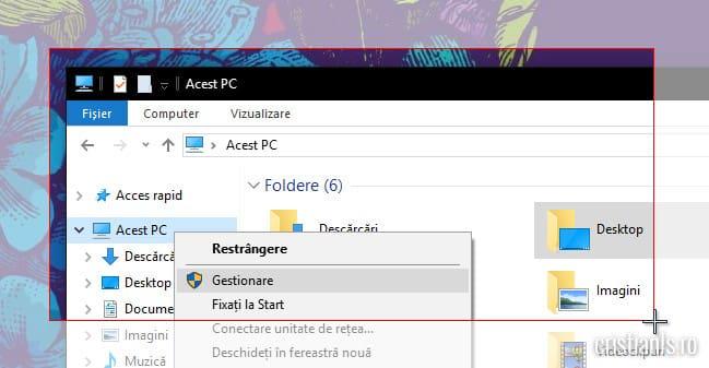 screenshot selectie windows 10