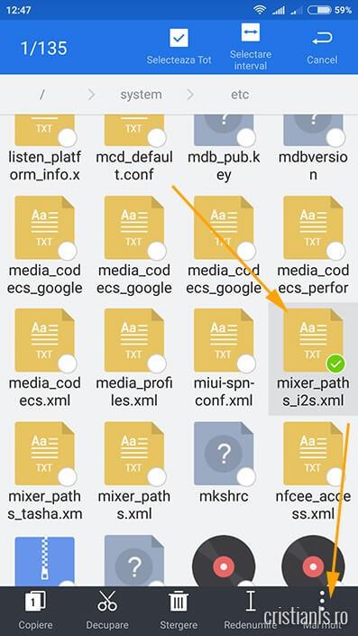Es File Explorer Optiuni