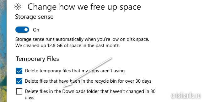 delete files downloads folder