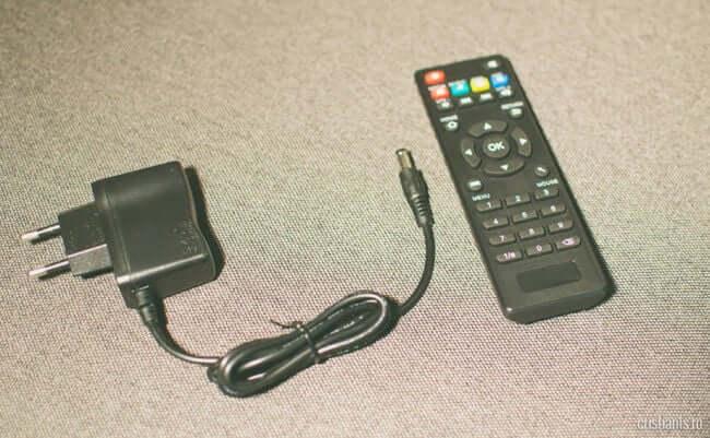 Mini M8S II - telecomanda transformator