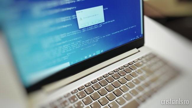 dialog script optimizare windows
