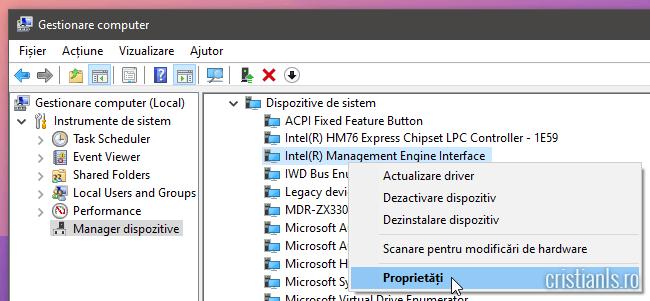 Intel Management Engine Interface