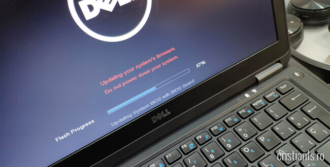 actualizare bios dell