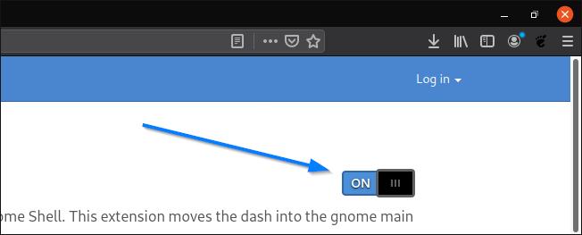 instalare extensie gnome