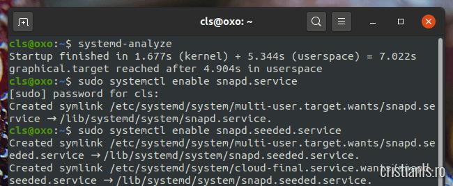 snapd.service ubuntu