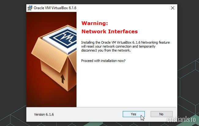 VirtualBox Network Interfaces