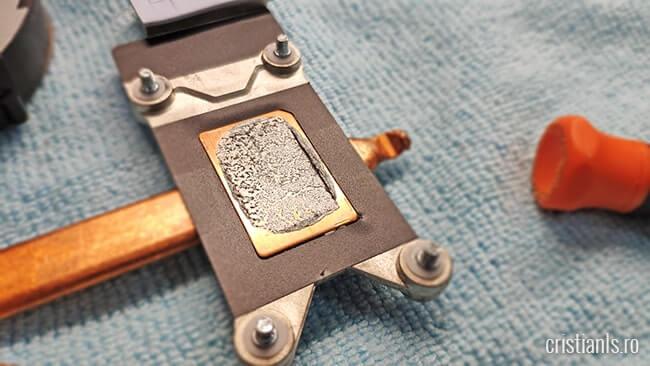 pasta termoconductoare aplicata corect - cooler