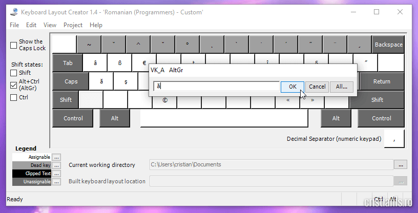 keyboard layout creator alt gr