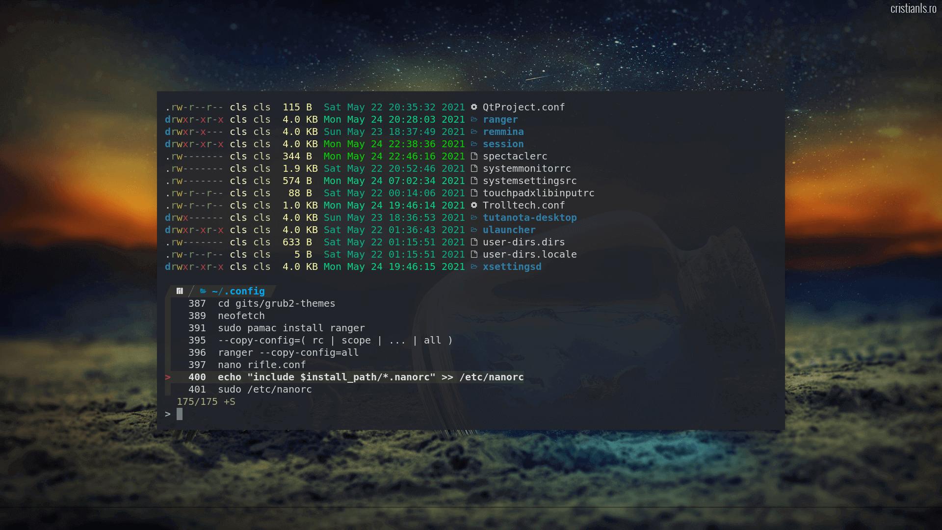FZF în Terminalul Linux
