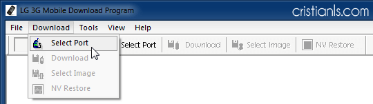Download » Select Port
