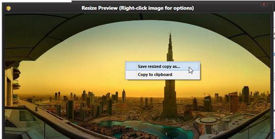 Save resized image